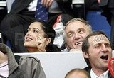 Salma and Francois Root for France