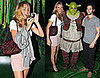Photos of Blake Lively and Penn Badgley at Shrek the Musical on Broadway