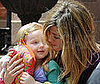 Photo Slide of Jennifer Aniston Filming The Baster in NYC 2009-05-13 15:00:00