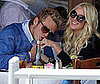 Photo Slide of Heidi Montag and Spencer Pratt Eating at the Ivy