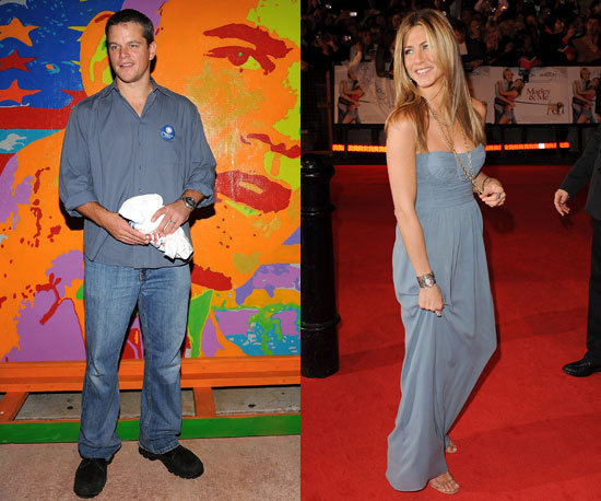 Who's Winning — Damon vs. Aniston?