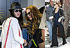 Photos of Lindsay and Ali Lohan at LAX; Lindsay Denies Pregnancy Rumors