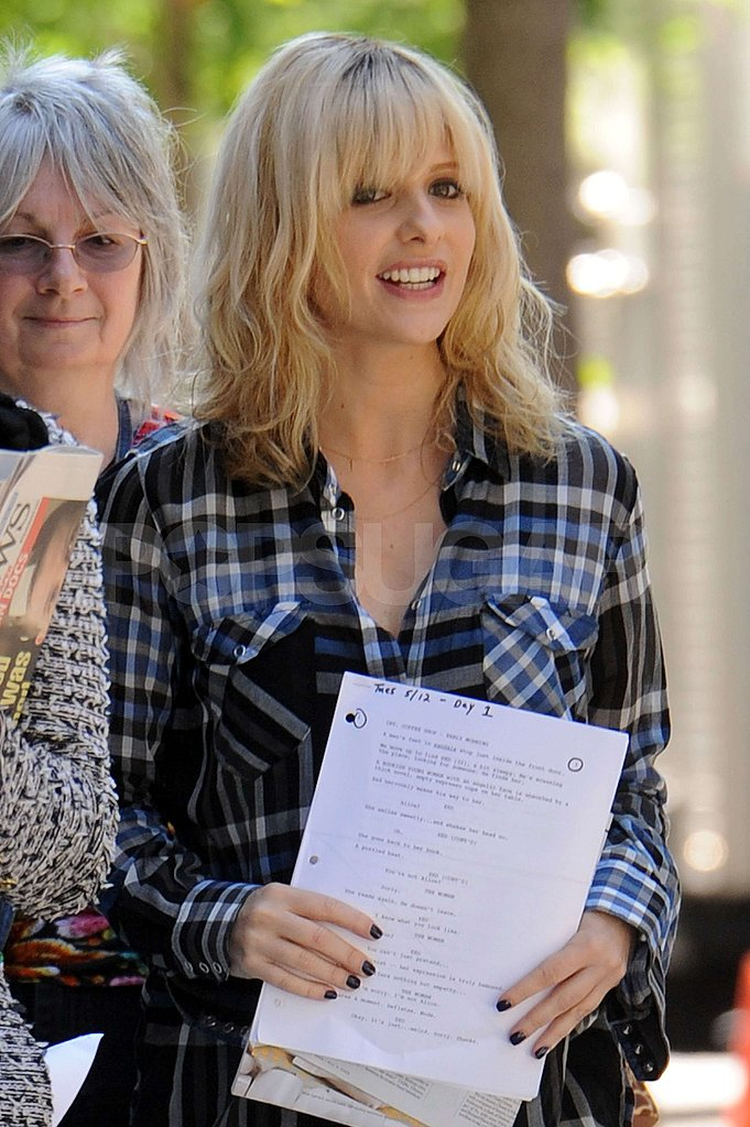 Sarah Michelle Gellar on Set