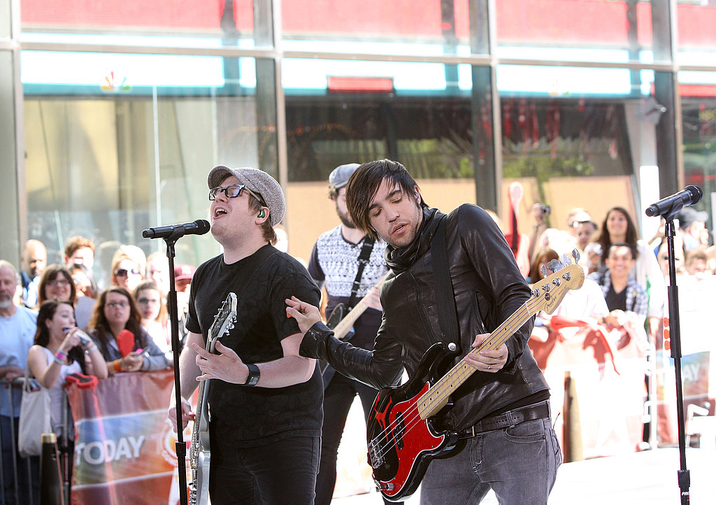Pete and Fall Out Boy Rock the Today Show