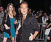 Photo Slide of Ed Westwick Heading Home After Partying at the CW Upfronts Bash