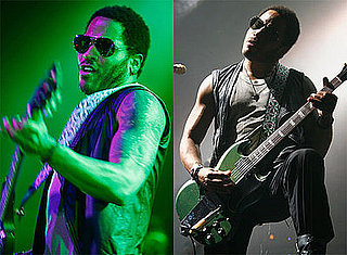 Photos of Lenny Kravitz Looking Hot on Stage in Paris