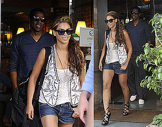 Photos of Jay-Z and Beyonce Knowles Touring Spain