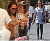 Photos of Jessica Alba Shopping in Rome