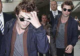 Photos of Robert Pattinson Arriving at the Cannes Film Festival