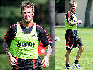 Photos of David Beckham in Milan