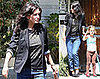 Photos of Courteney Cox Picking Up Coco Cox From School in LA