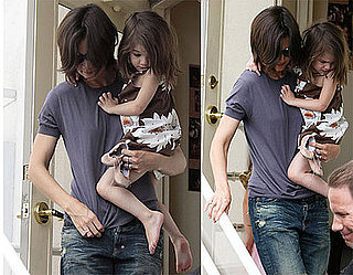 Photos of Katie Holmes and Suri Cruise in LA 2009-05-28 15:00:13