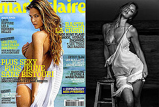Bikini and Topless Photos of Bar Refaeli in Marie Claire May 2009 France Issue