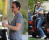 Photos of Neil Patrick Harris Heading to the Gym in LA