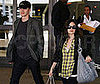 Photo Slide of Hayden Christensen and Rachel Bilson Back at LAX