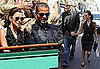 Photos of Eva Longoria and Tony Parker Watching the French Open and Shopping in Paris