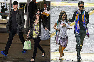 Photos of Rachel Bilson Picking Up Her Sister Hattie From School in LA