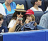 Photo Slide of Kate Hudson and Her Son Ryder at a Yankees Game