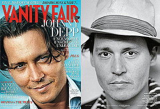 Photos and Quotes From Johnny Depp of Public Enemies in Vanity Fair
