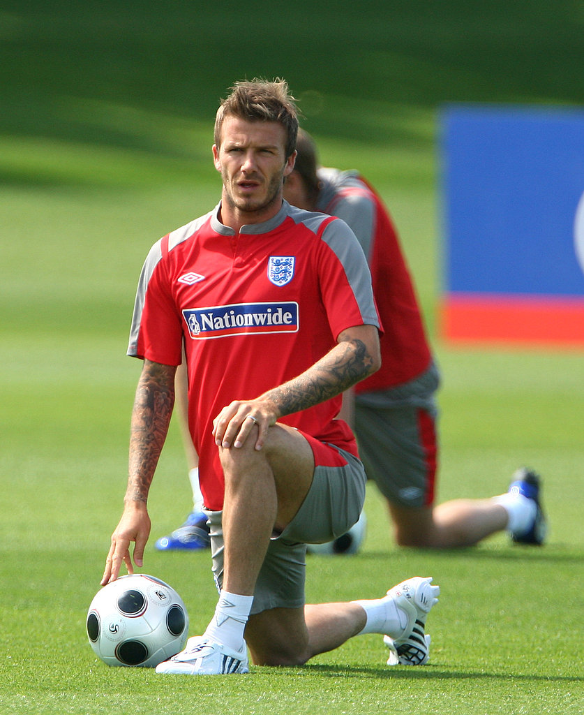 David Beckham in London