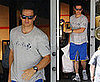 Photos of Mark Wahlberg Leaving Niketown in Beverly Hills