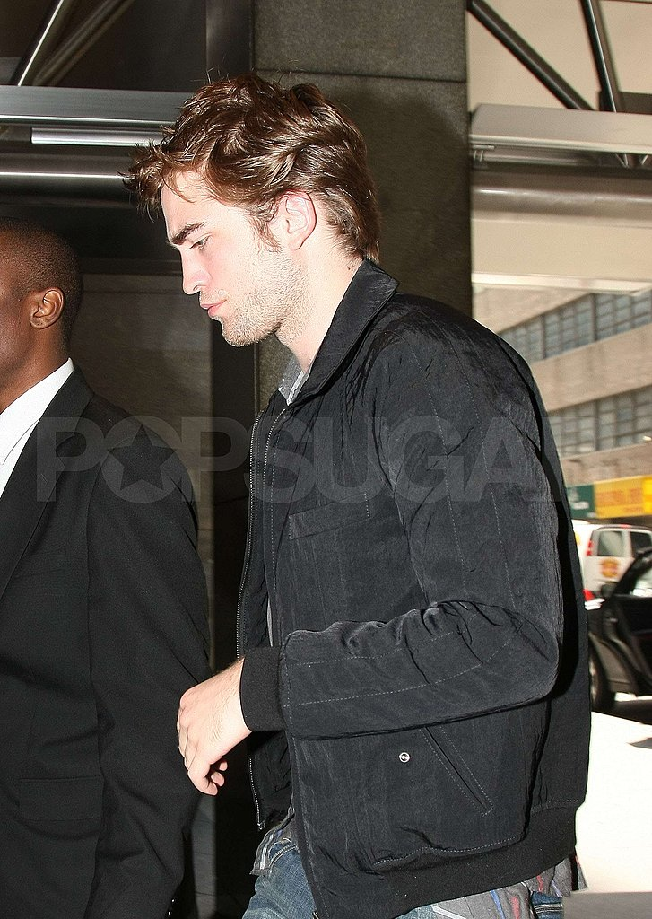 Robert Pattinson in NYC