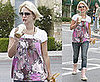 Britney Spears Hits Starbucks