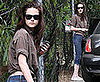 Photos of Kristen Stewart Visiting a Friend in LA