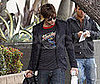 Photo Slide of Chace Crawford With Luggage in LA