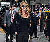 Photo Slide of Julia Roberts Outside The Late Show in NYC