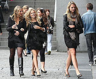 Photo Slide of Sienna Miller With Friends in Paris