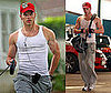 Photos of Twilight's Kellan Lutz Before Working Out in LA