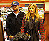 Photo Slide of Leonardo DiCaprio and Bar Refaeli at Barnes & Noble
