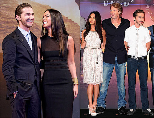 Photos of Shia LaBeouf, Megan Fox, Josh Duhamel at the Premiere of Transformers 2 in South Korea
