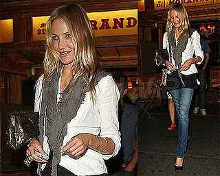Photos of Cameron Diaz in NYC