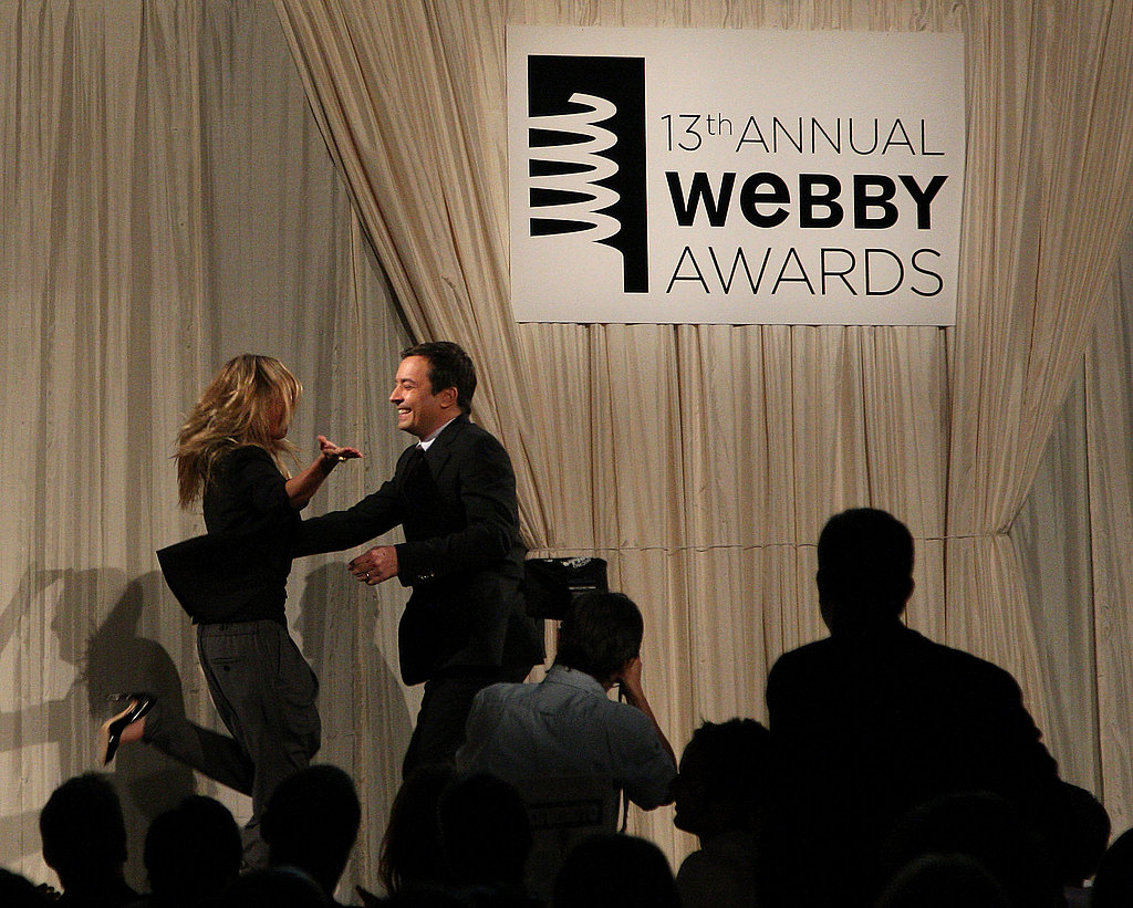 Celebs at The Webbys
