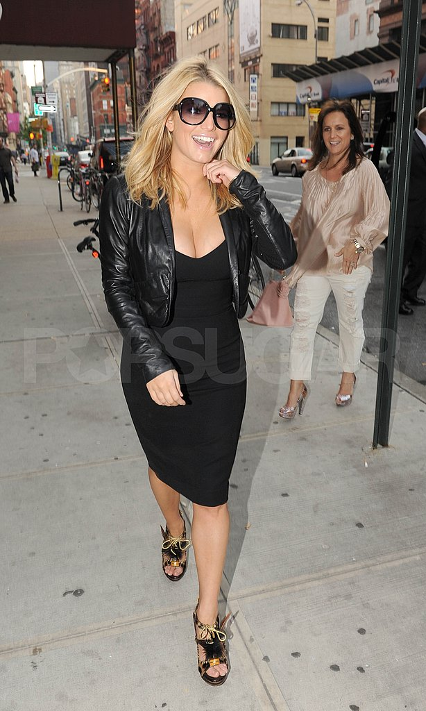 Jessica Simpson in NYC