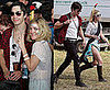 Photos of Drew Barrymore and Justin Long at Bonnaroo Festival in Tennessee