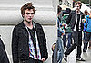 Photos of Robert Pattinson Filming Remember Me in NYC 2009-06-15 07:30:19