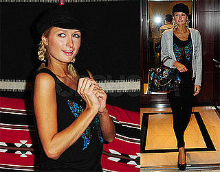 Photos of Paris Hilton in Dubai