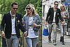 Photos of Happy Kate Moss and Jamie Hince Walking in London