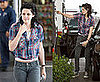 Kristen Stewart Pumping Gas