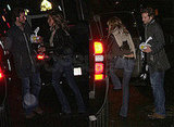 Jennifer and Bradley Out to Dinner