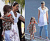 Photos of Katie Holmes and Suri Cruise at CBS Studios