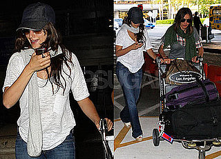 Photos of Penelope Cruz at LAX