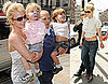 Photos of Britney Spears With Her Sons in London