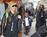 Madonna at Heathrow