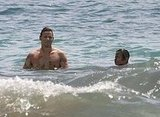Justin Chambers at the Beach