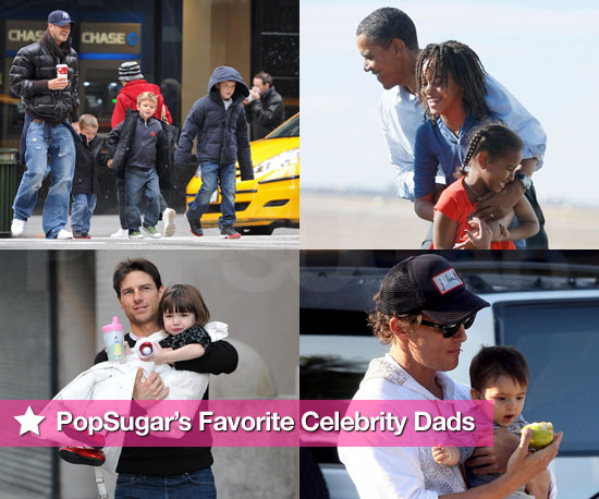 PopSugar's Favorite Celebrity Dads