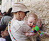 Photo Slide of Naomi Watts With Son Samuel Schreiber at the Wailing Wall in Jerusalem